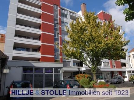 Helles Singleapartment mit Balkon in unmittelbarer Nähe zum Hafen!