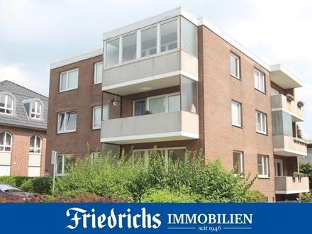 Moderne, bezugsfreie 3-Zimmer-Wohnung mit Balkon in zentrumsnaher Lage in Oldenburg