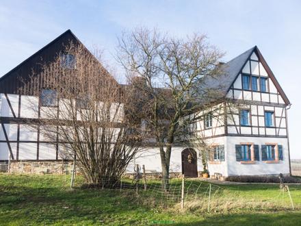 Muss man (gesehen) haben!+individuelles Bauerngut in Limbach-Oberfrohna+Fernblick+Ruhe+TOP-OBJEKT