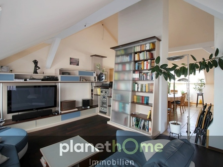 198m² DG-Wohnung mit sonniger Terrasse