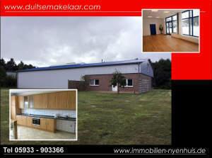 Gewerbehalle mit Betriebswohnung/Büro ** Wohnung kann als Dauerwohnsitz genutzt werden