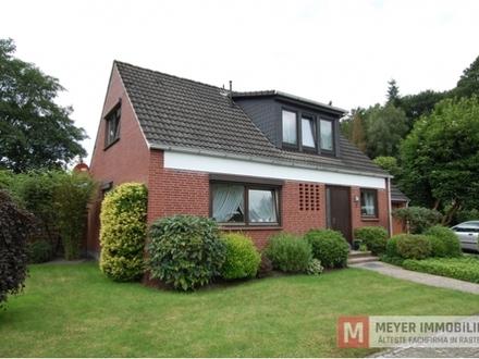 Gemütliches Wohnhaus mit herrlichem Gartengrundstück in Rastede (Objekt-Nr.: 5754)