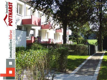 Moderne Mietwohnung mit Garten