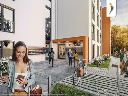 Renditestarkes Investment - 1-Zimmer-Studio mit moderner Möblierung und Balkon