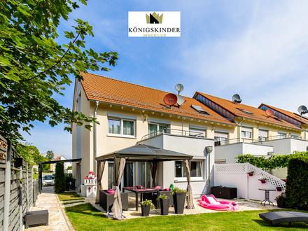 Elegantes und Modernes Haus mit Top Ausstattung, schöne Terrasse u. großer Garten, exclusive EBK