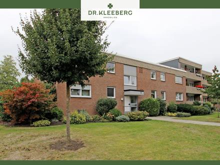 Gut geschnittene 3-Zimmer-Wohnung mit großer Westloggia in ruhiger Wohnlage von Münster-Hiltrup