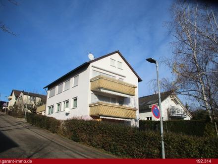 !! Sonnige Aussicht in Marbach und zu Fuß zur S-Bahn !!