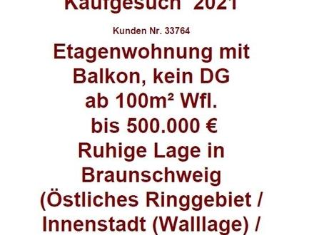 Eigentumswohnung in Braunschweig gesucht