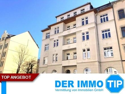 2 Zimmerwohnung mit Balkon auf dem Kaßberg zur Miete