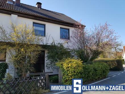 Top-Wohnlage! Großzügige Doppelhaushälfte mit schönem Garten in Schwabach