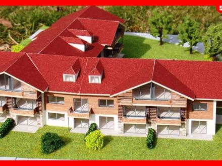 Neubauwohnungen im alpinen Stil