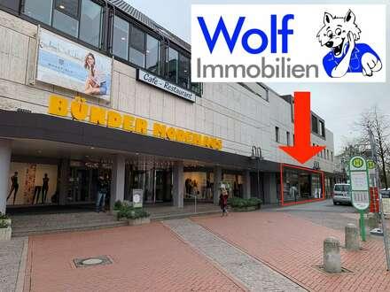 ~~Attraktives Ladenlokal an der Fußgängerzone von Bünde!~~
