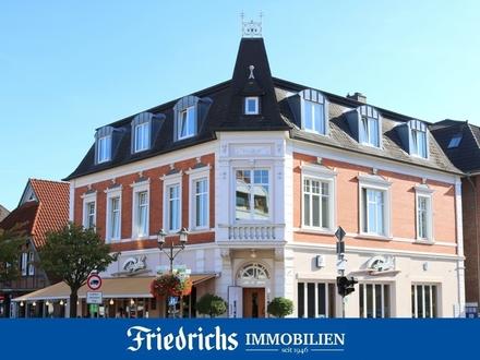 Attraktive Altbau-Obergeschosswohnung mit hohen Decken im Zentrum in Bad Zwischenahn