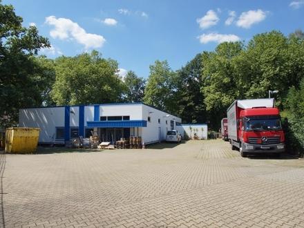 Vielseitig nutzbare Lagerhalle mit Büroflächen