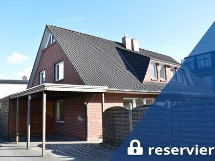 Oldenburg: Geräumige Doppelhaushälfte mit Garten und Garage nahe des Drielaker See's, Obj. 5293