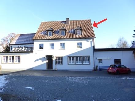 Stadtnahe 3-Zimmer-Dachgeschosswohnung in Kulmbach/Blaich