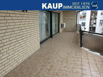 4-ZKB-Wohnung mit gr. Balkon in direkter Innenstadtlage von Gütersloh