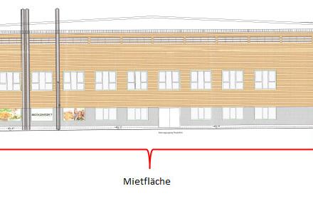 Großzügige Gewerbefläche in revitalisierter Fliegerhalle