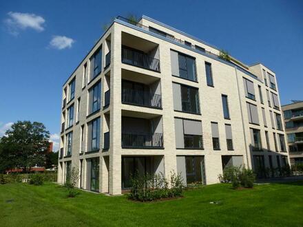 Neubau: Drei-Zimmer Wohnung mit Balkon am Stadtwerder