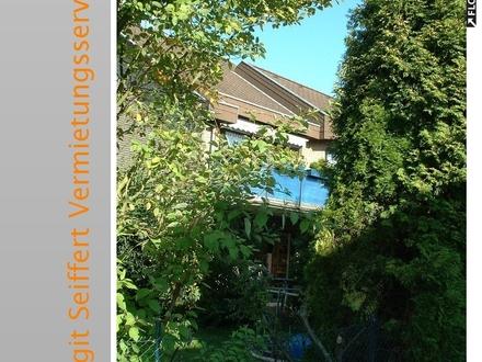 Moderne 3-Zimmer-Wohnung mit Balkon und eigenem kleinen Garten in kleiner Wohneinheit