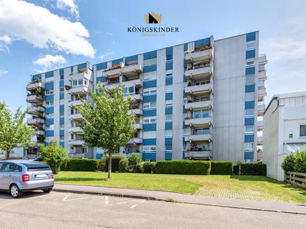 Vermietete 2,5-Zimmer Wohnung mit Garage und Terrasse in Baltmannsweiler-Hohengehren