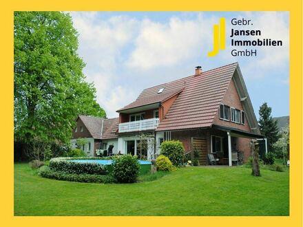 Neuer Preis! Großzügiges Landhaus mit eigenem kleinen Wald, Stallgebäude und Schwimmbecken!!