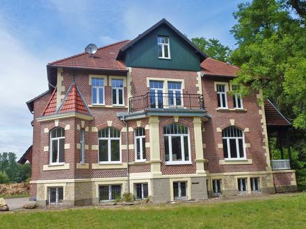 SCHÖNER WOHNEN - Saniertes Gutsherrenhaus im Außenbereich