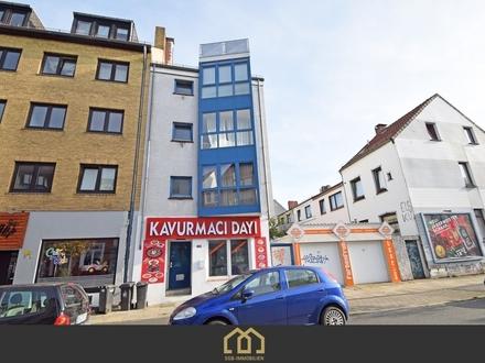 Anlage: Attraktives Mehrfamilienhaus + Gewerbe in begehrter Lage der Neustadt mit 5,5 % Rendite