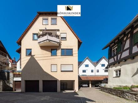 Interessante 4-Zimmerwohnung mit Balkon und Garage