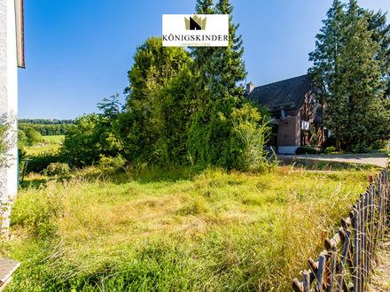 Starten Sie direkt mit dem Bau:Schönes Grundstück mit Projektierung + Baugenehmigung in toller Lage
