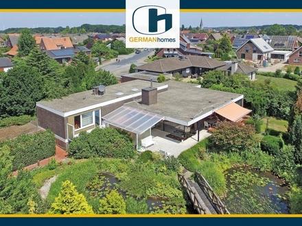 PROVISIONSFREI für Käufer – Klassischer 60er Jahre Bungalow mit Traumgarten in Nordwalde