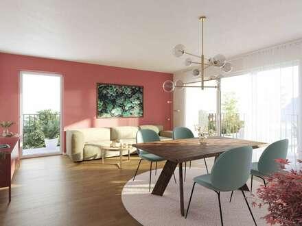 Familienfreundliche Wohnung mit 4 Zimmern und Balkon - Kita und Schulen nur wenige Schritte entfernt