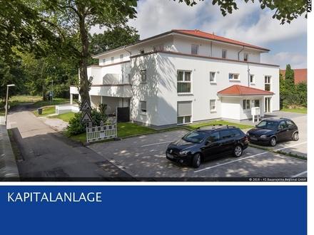 Kapitalanlage - Neubau Terrassenwohnung 38 m² mit kleinem Gartenstück - Vollvermietet