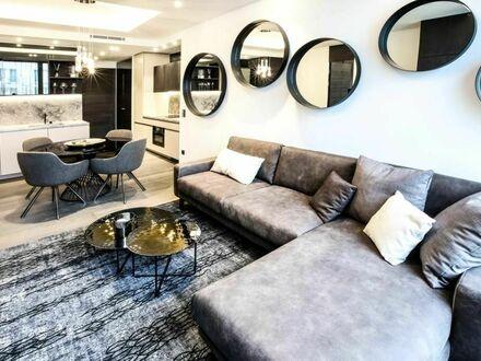 Renovierte 2-Raum-Whg., 45 m² mit Einbauküche