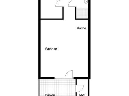 2 Zimmer-Wohnung in einem Terrassenhaus