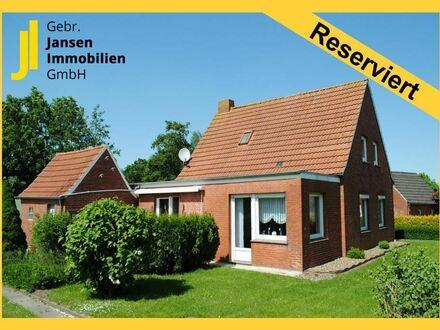 Einfamilienhaus mit Feldblick in Sackgassenlage von Oldersum!