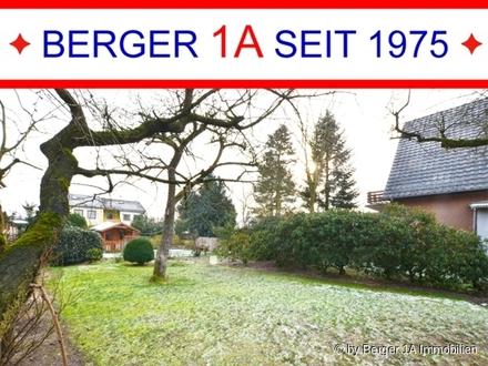 GELEGENHEIT in HORN-LEHE: BAUGRUNDSTÜCK f. schmales Haus in rückwärtiger Lage - BAUTRÄGERFREI -