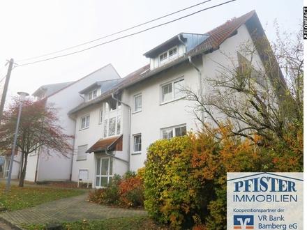 Helle Dachgeschoss-Wohnung über 2 Wohnebenen