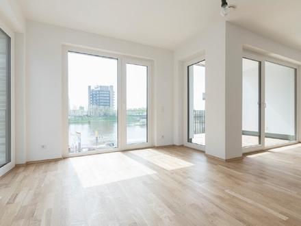 Neubau / Erstbezug: Großzügig geschnittene 2,5-Zimmer-Wohnung mit direkten Weserblick