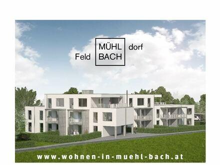 Neubau im Vulkanland: 90m² Gartenwohnung in Mühl_Bach! Provisionsfrei!