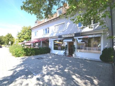 Laden / Friseur an frequentierter Hauptstrasse in Forstenried