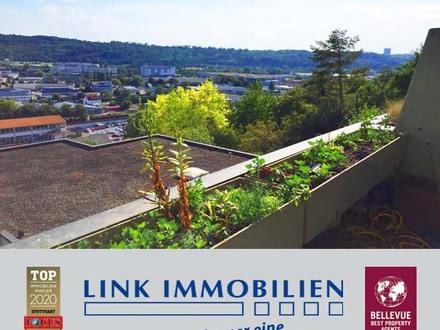 Erstklassige Terrassenwohnung mit Panoramafernsicht in Esslingen-Zell