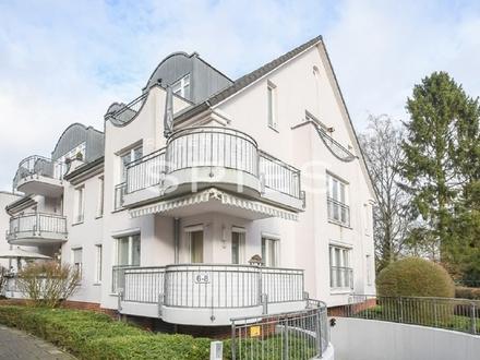 Sehr gepflegte Dachgeschosswohnung mit Fahrstuhl und Tiefgaragenstellplatz in beliebter, ruhiger Wohnlage