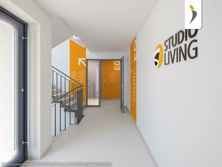 Doppel-Apartment in der Weltmetropole Frankfurt: hohe Vermietbarkeit in neuer Trend-Anlage