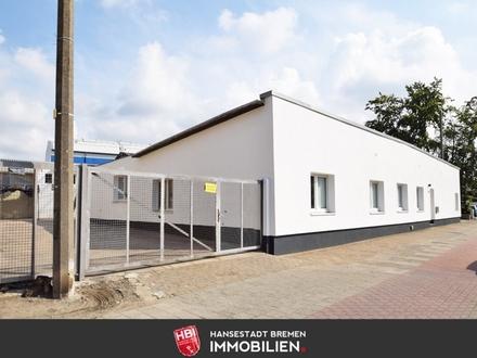 Woltmershausen / Großzügiges Bürogebäude mit separater Halle