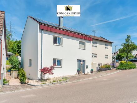 Elegant- Geschmackvoll -Neubau-Niveau Freistehendes Einfamilienhaus mit sonnigem,charmantem Garten