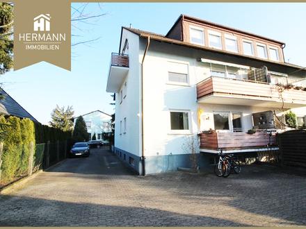 Modernisierte 4-Zimmer-Maisonette-Wohnung in Rodgau (Weiskirchen)