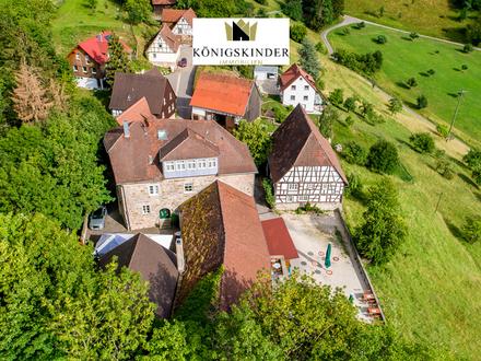 Burganlage aus der Stauferzeit mit viel Potential als Hotel oder als Ambiente für besonderes Wohnen