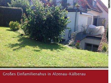 Einfamilienhaus mit großem Platzangebot in Alzenau-Kälberau