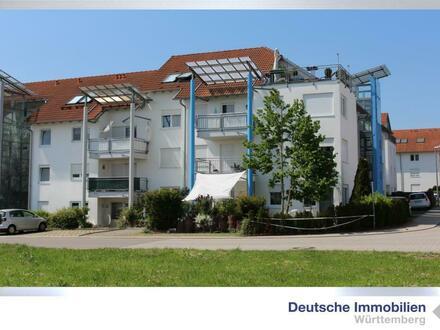 3,5-Zimmer-DG-ETW mit großer Dachterrasse - Fernblick über Jettingen